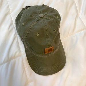 Carhartt forest green baseball cap